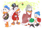 KISS THE GUUURL - Uncle Scrooge comics