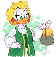 ''O'Gilt'' - Uncle Scrooge comics by Koizumi-Marichan