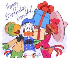 Happy B-day Donald!!! by Koizumi-Marichan