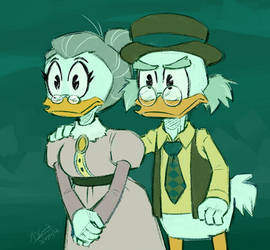 Fergus and Downy - Ducktales 2017 by Koizumi-Marichan