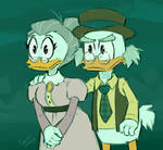 Fergus and Downy - Ducktales 2017