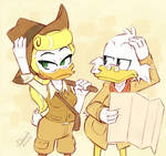 She can be a challenge sometimes - Ducktales 2017