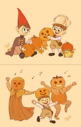 Pumpkins - Over the Garden Wall by Koizumi-Marichan