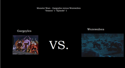 Monster Wars - S1, E1 by spiderxand