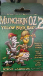 Munchkin Oz card deck by spiderxand