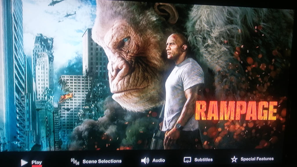 Rampage Menu Screen by spiderxand