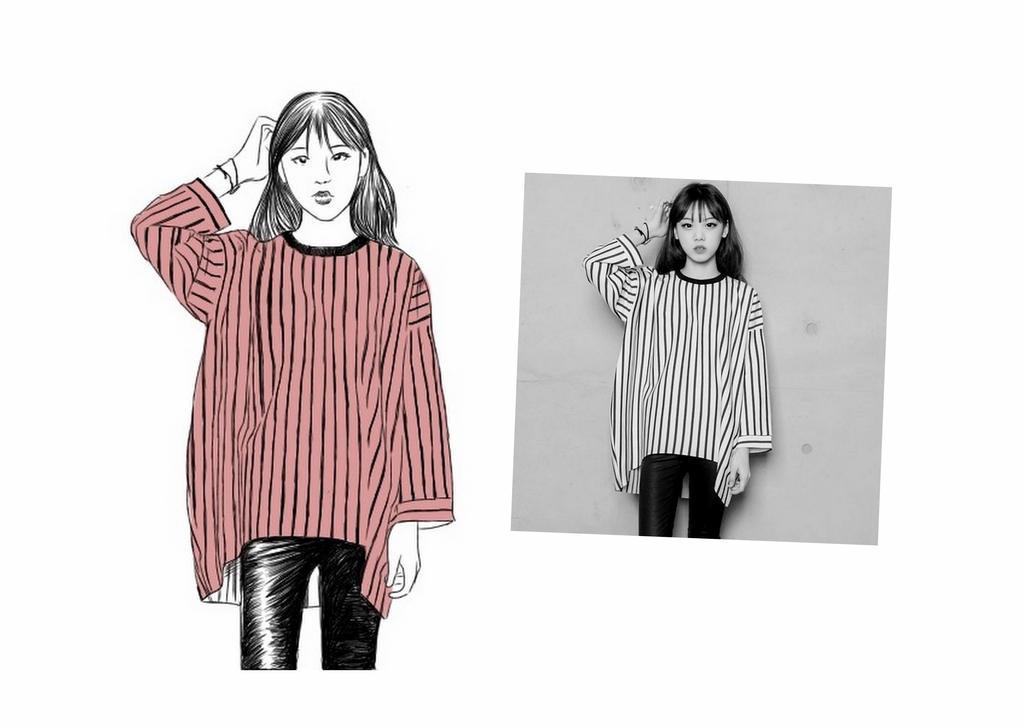 Korean Fashion Girl By Theblonde1 On Deviantart