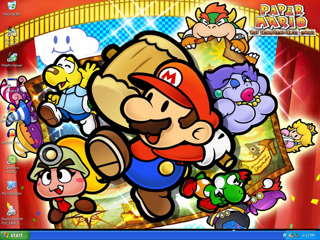 Paper Mario TTYD Wallpaper By XFlowerstarx