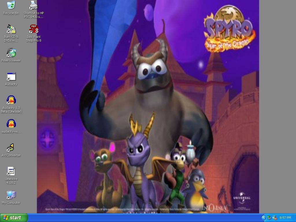 Spyro and Friends Wallpaper by xFlowerstarx