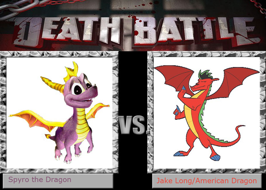 Death Battle Idea - Spyro vs. American Dragon by xFlowerstarx