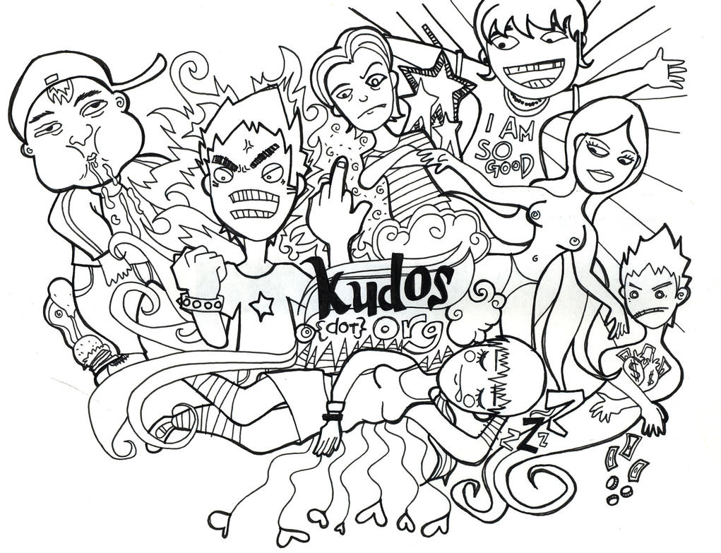 7 Deadly Sins Coloring Pages Sketch Coloring Page