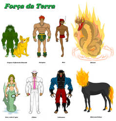 Earth Force / Forc,a da Terra