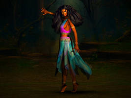 Dance of the Gypsy by KayoteWolfrose