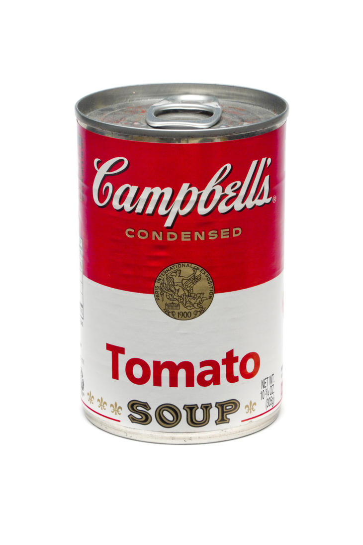campbell 39 s tomato soup by feureau on deviantart. Black Bedroom Furniture Sets. Home Design Ideas