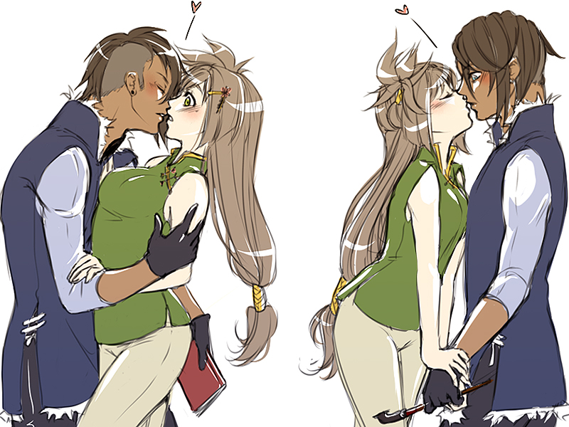 I'm not kissing you because i like you or anything by D-Artemisatto