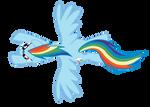 Rainbow Dash by ShayminOnEarth