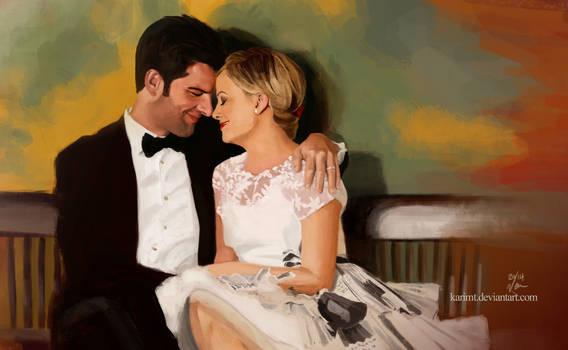 Ben And Leslie by KarimT