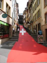 A street in Switzerland
