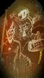 One Horn of Black Wind Cave by ElthosRPG