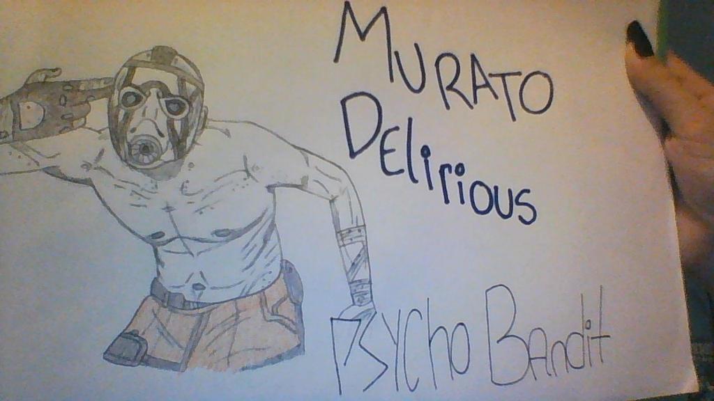 Murato Delirious PSYCHO BANDIT BORDERLANDS by TurtlegalFox88