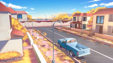 Autumn Street by SaitoRyou