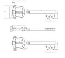 Kingdom key blueprints by finaformsora
