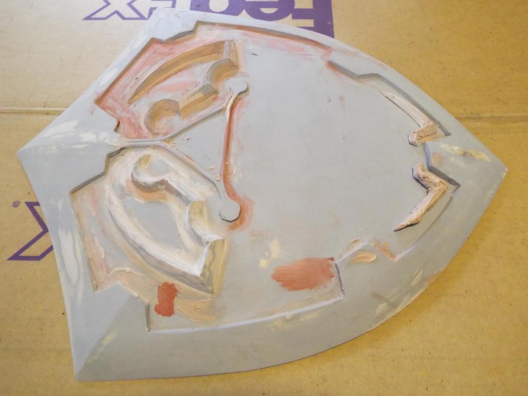 Hylian Shield wip by finaformsora