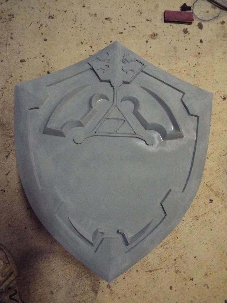 Hylian Shield wip 2 by finaformsora