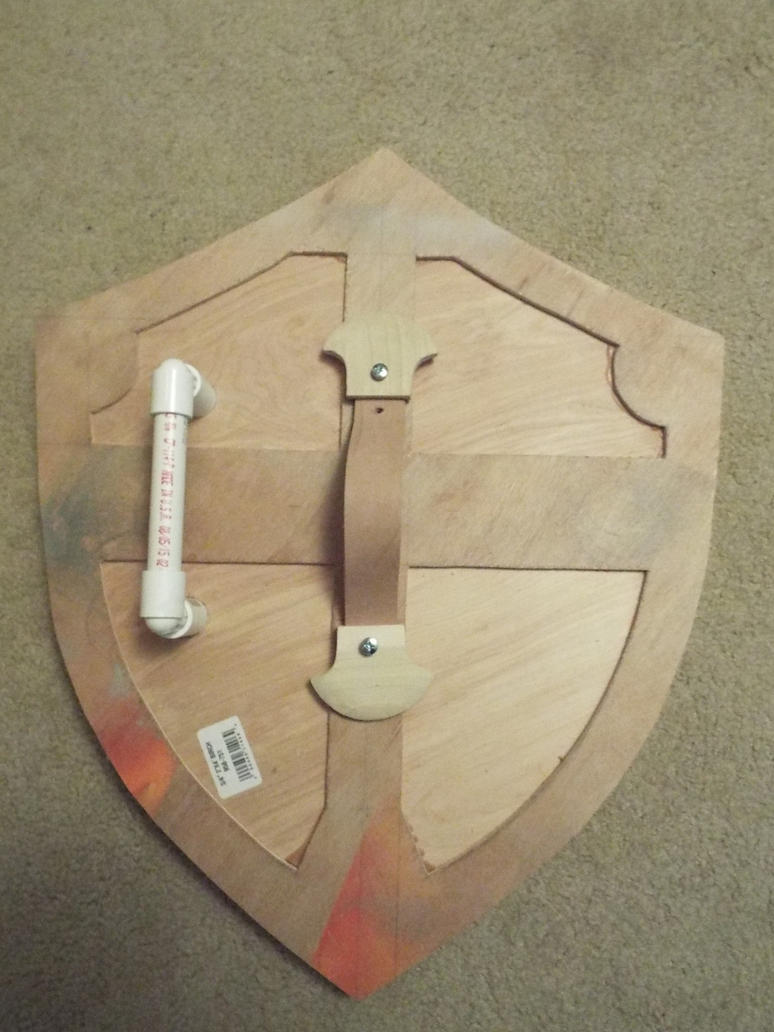Hylian Shield Test fit by finaformsora