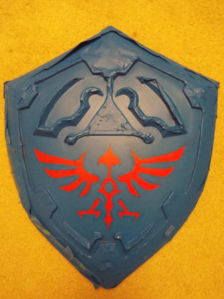 Hylian Shield wip 5 by finaformsora