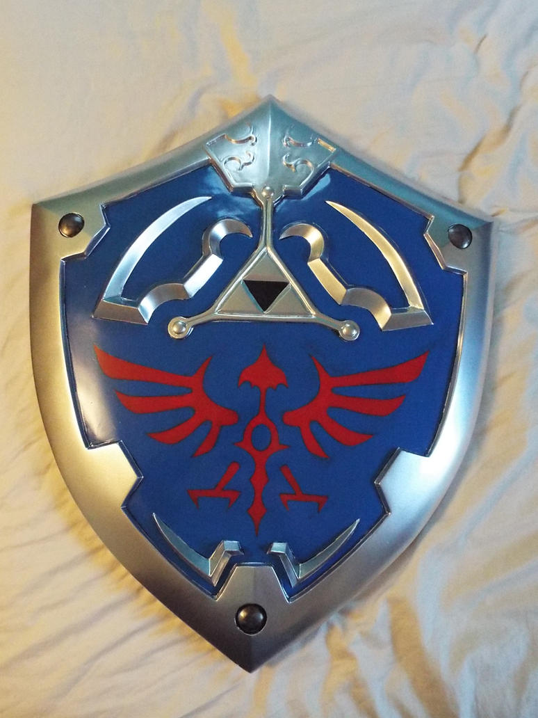 Hylian Shield Paint Wip 2 by finaformsora