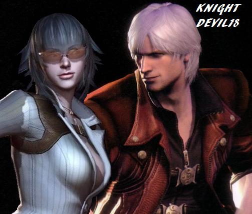 Dante X Lady by knightdevil18