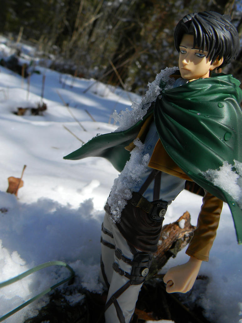 Levi in the Snow 2 by thenacken