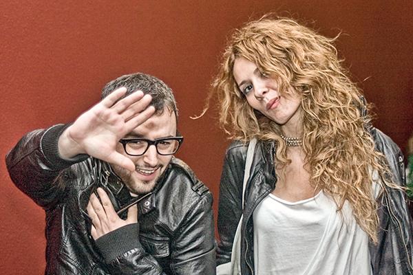 Actors Dario Paso and Elena Ballesteros at CICVA by nocturno