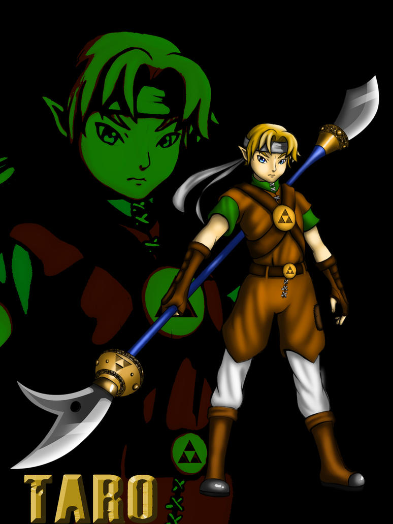 Taro (Link's Brother) by coMITCH-Art
