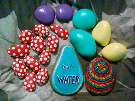 More painted rocks!!