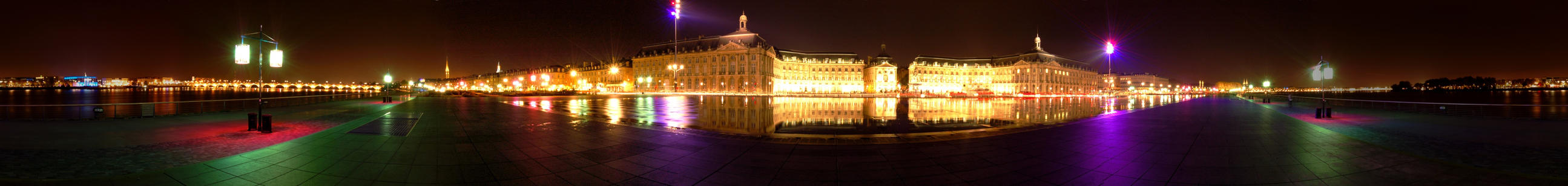 Panoramic : Place de la Bourse by frodrigo