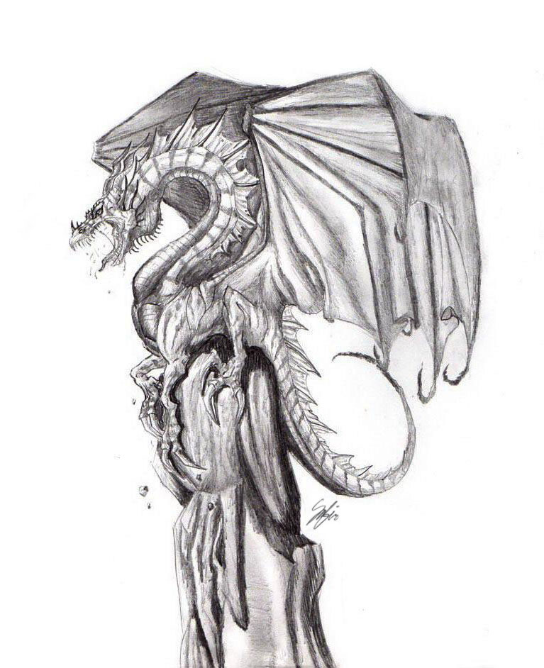 Dragons Cry by BraveBabysitter