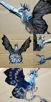 3 Blue Fairy Dragons