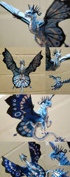 3 Blue Fairy Dragons by BraveBabysitter