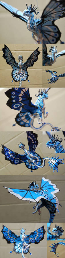 3 Blue Fairy Dragons