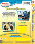 Thomas and the Treasure 2008 VHS back cover