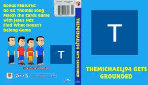 TheMichaelJ94 Gets Grounded DVD cover
