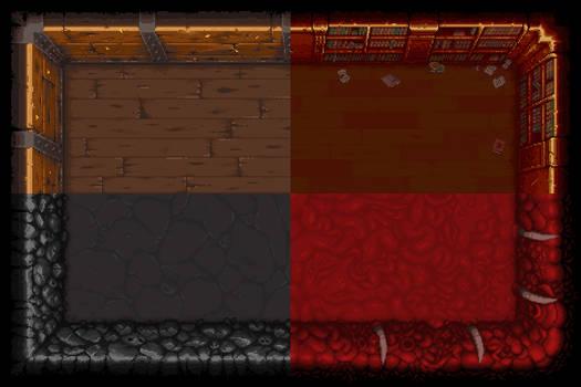 Binding of Isaac Rebirth Tiles