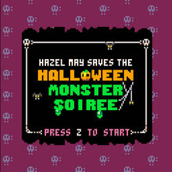 Hazel May Saves the Halloween Monster Soiree by wanyo