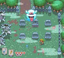 The Legend of Zelda: Link's Awakening Mockup by wanyo