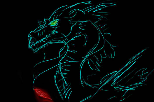 Sketchy Dragon :3