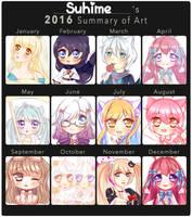 2016 Art Summary by Suhime