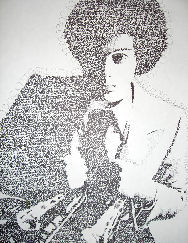 Billy Joel by lillerzini