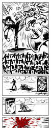 Fist of the NorthStar vs Arishok quick pages p2 by ADE-doodles